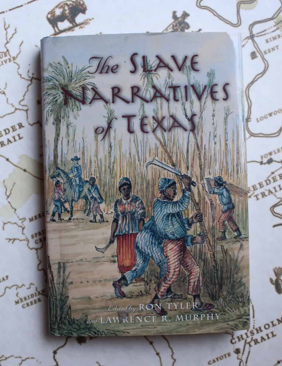 Book cover The Slave Narratives of Texas