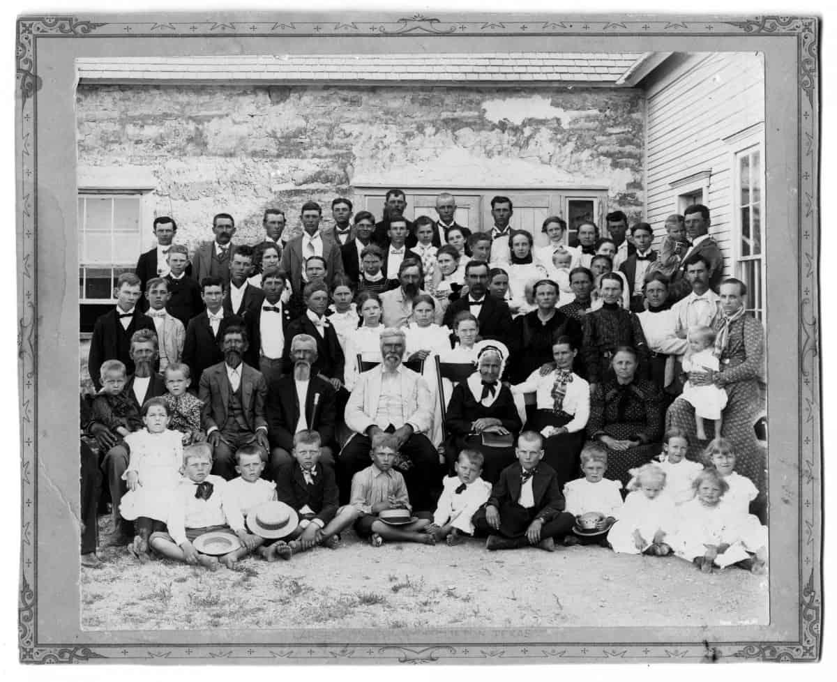 En stor slekt var samlet på Liv GRimølands nittiårsdag.